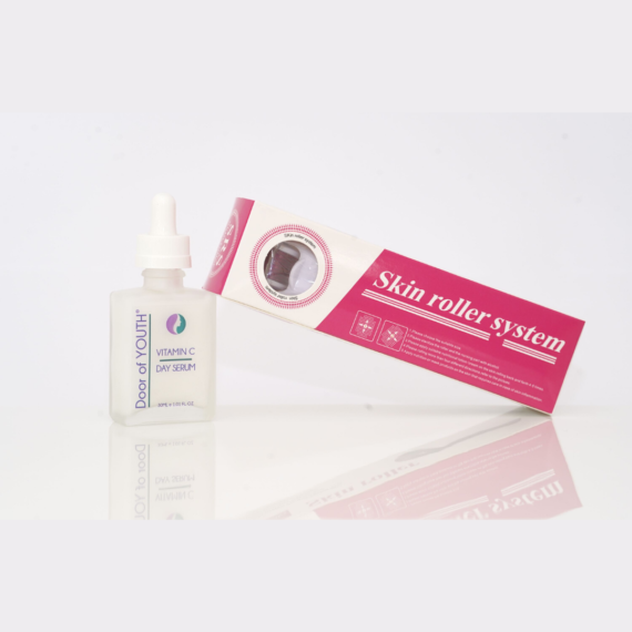 Derma Roller and Vitamin C Serum | Pro-age Skin Care | Door of Youth