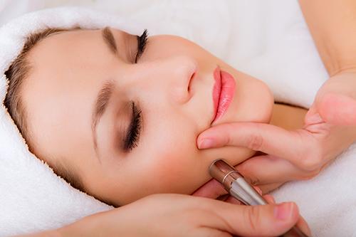 Micro-needling door of youth skin care range & skin clinic