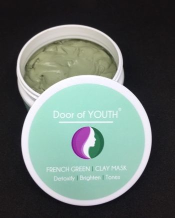 French Green Clay Mask skincare | Door of Youth